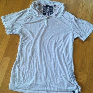 Light white button down shirt